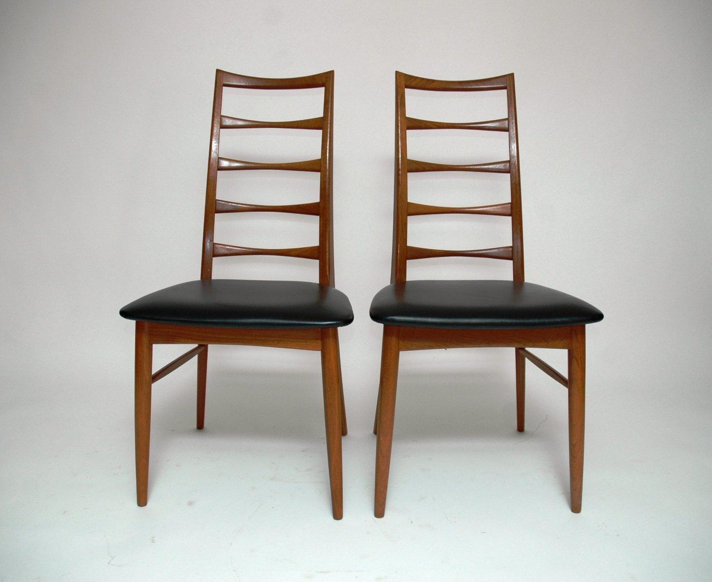 lis st hle von niels koefoed f r koefoeds m belfabrik 6er. Black Bedroom Furniture Sets. Home Design Ideas