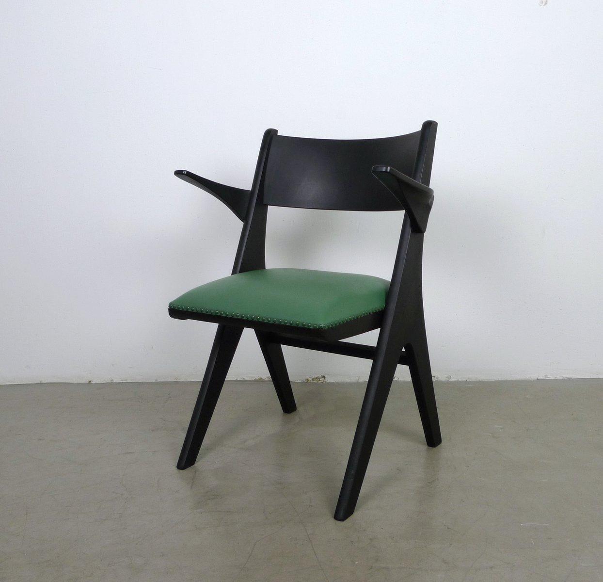 gr ner sessel modell penguin von carl sasse f r casala 1950er bei pamono kaufen. Black Bedroom Furniture Sets. Home Design Ideas