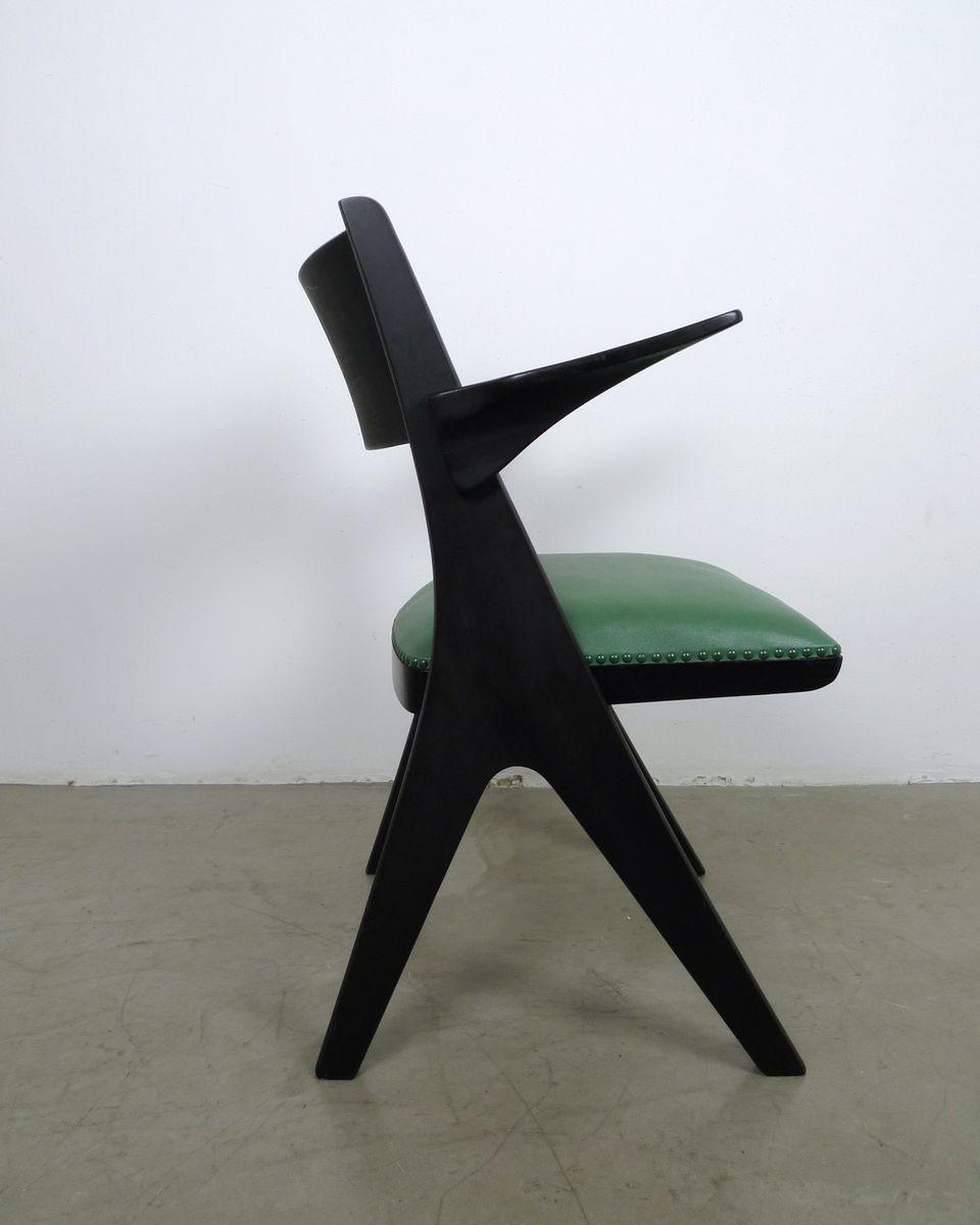 gr ner sessel modell penguin von carl sasse f r casala. Black Bedroom Furniture Sets. Home Design Ideas