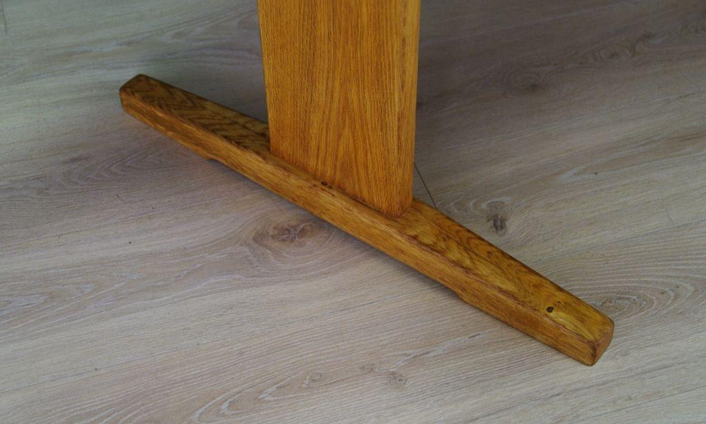 skandinavischer vintage tisch mit esche furnier bei pamono kaufen. Black Bedroom Furniture Sets. Home Design Ideas