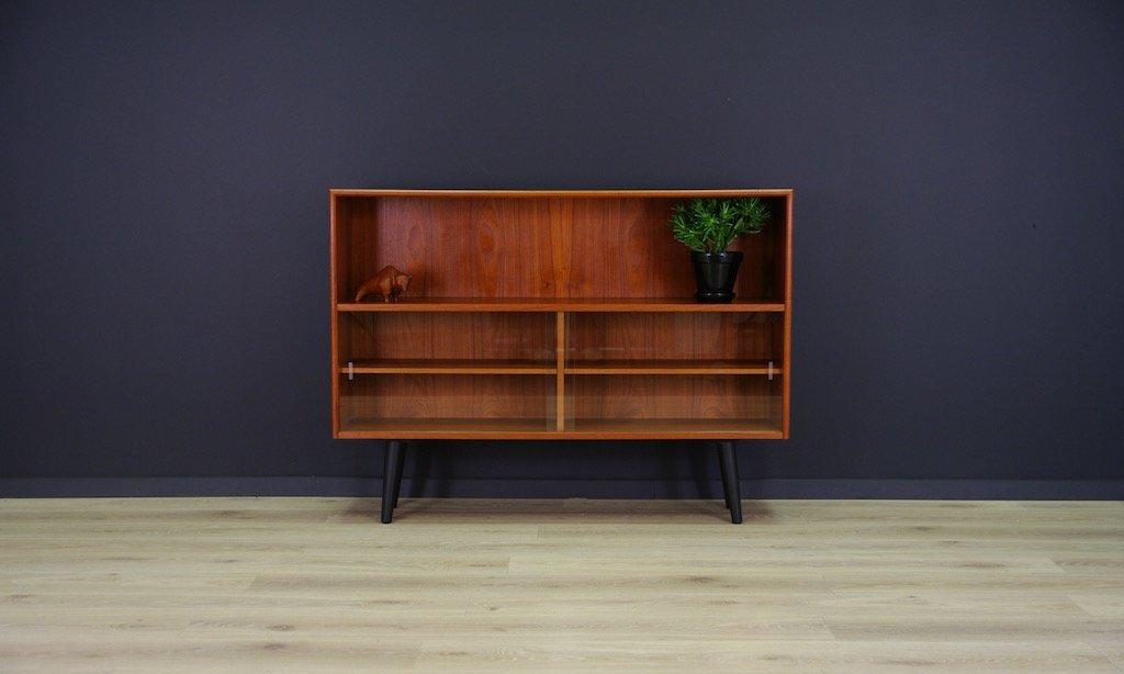 d nisches vintage regal mit teak furnier bei pamono kaufen. Black Bedroom Furniture Sets. Home Design Ideas