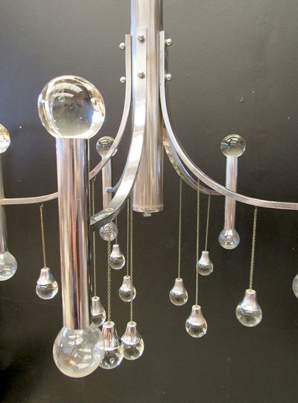 vinatge kronleuchter aus murano glas von gaetano sciolari bei pamono kaufen. Black Bedroom Furniture Sets. Home Design Ideas