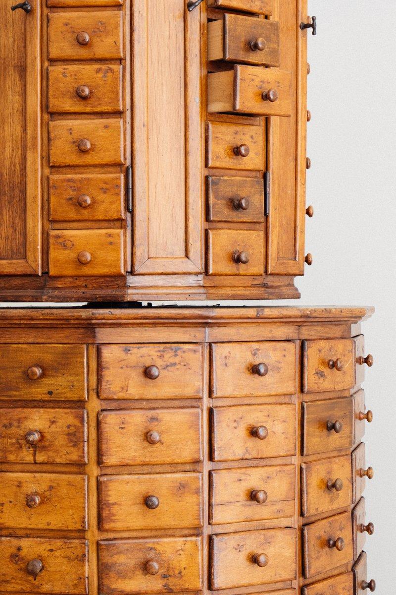 Antique German Rotating Bolt Cabinet by Justus Ebert Hünfeld for ...