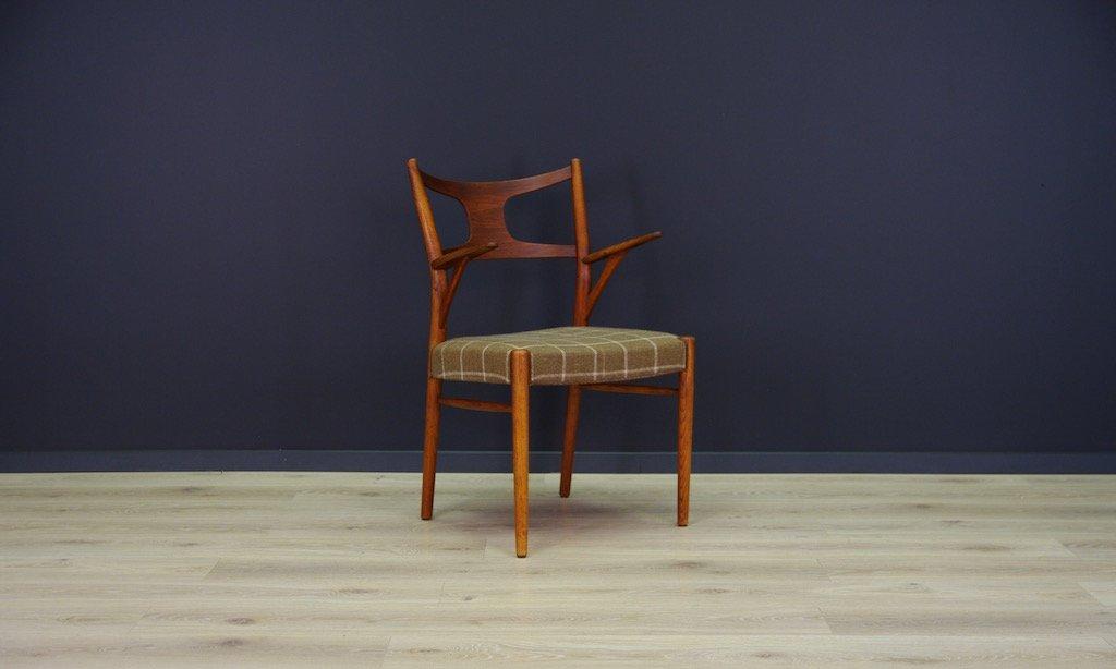 D nischer mid century teak stuhl bei pamono kaufen - Mid century stuhl ...