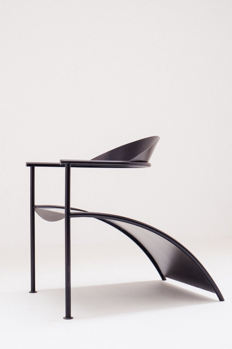 pat conley 2 easy chair by philippe starck for xo design 1986 for sale at pamono. Black Bedroom Furniture Sets. Home Design Ideas