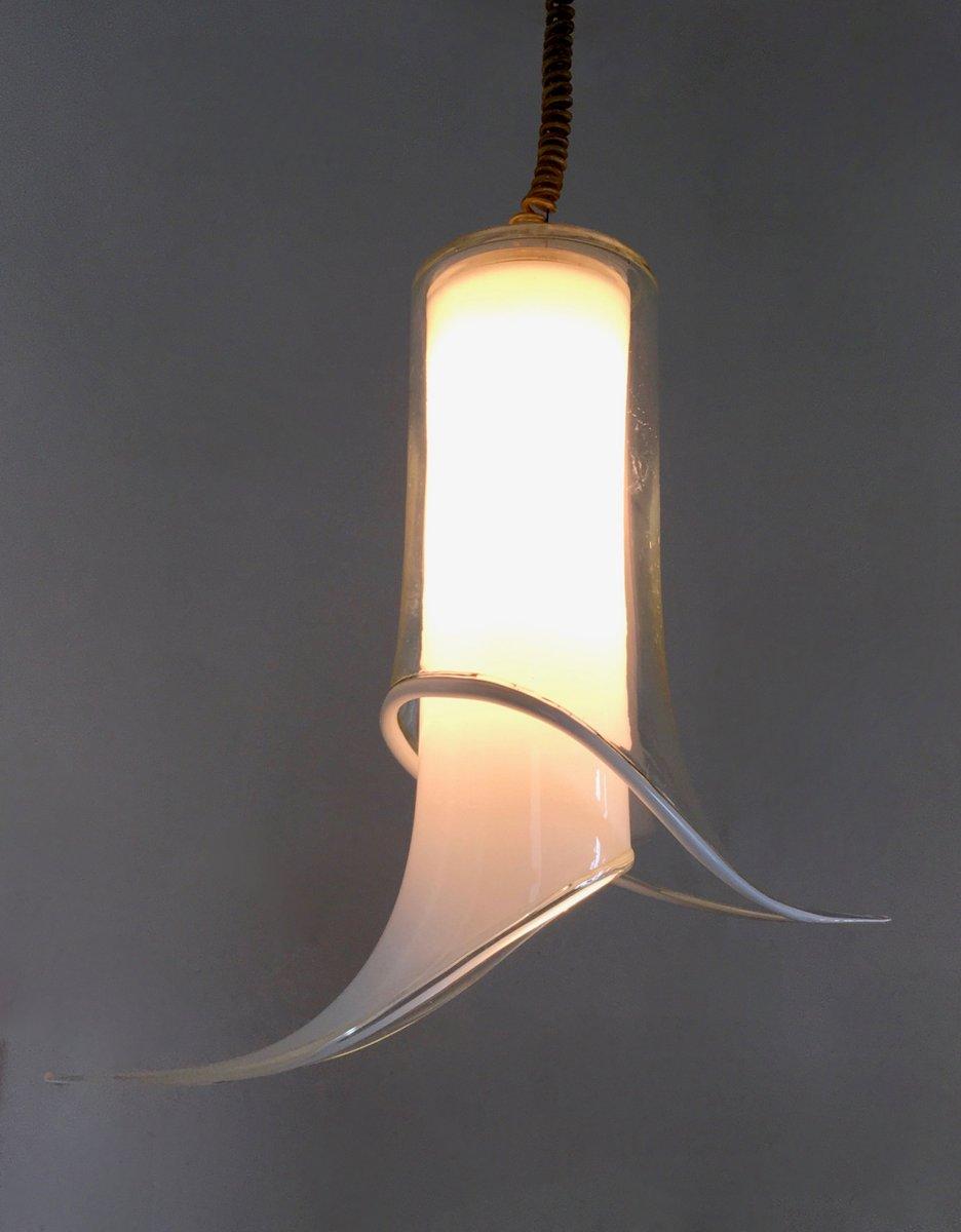 murano glas deckenleuchte von mazzega 1970er bei pamono. Black Bedroom Furniture Sets. Home Design Ideas