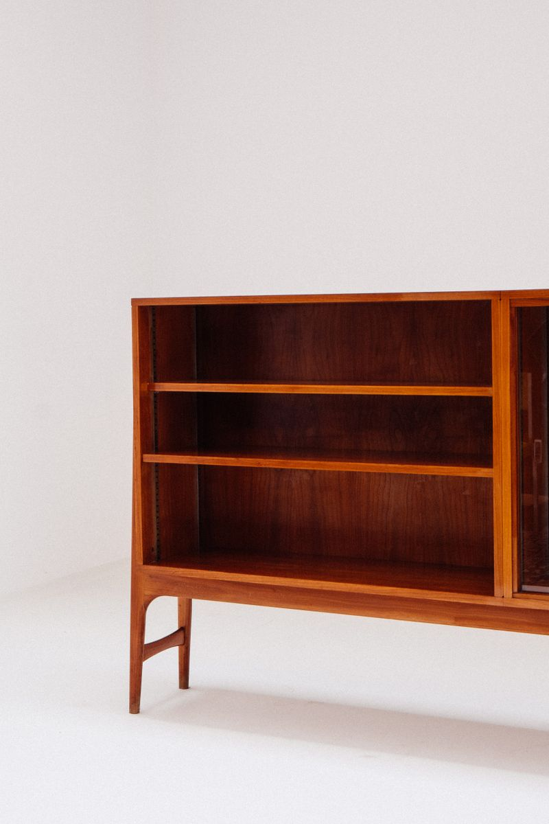 Commissioned Cherry Veneer Cabinet by Alfred Hendrickx for Belform ...