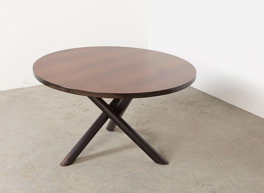 moderner runder esstisch 1960er bei pamono kaufen. Black Bedroom Furniture Sets. Home Design Ideas