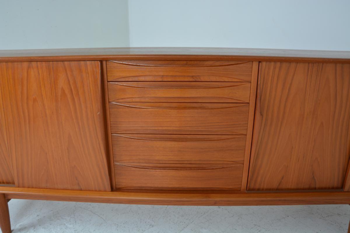sideboard by arne vodder for dyrlund 1960s for sale at pamono. Black Bedroom Furniture Sets. Home Design Ideas