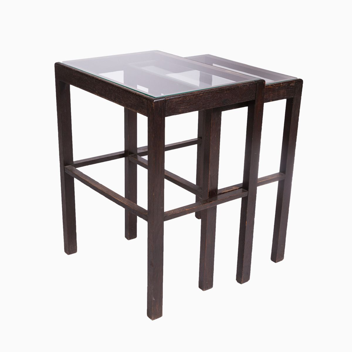 Vintage nesting tables for sale at pamono