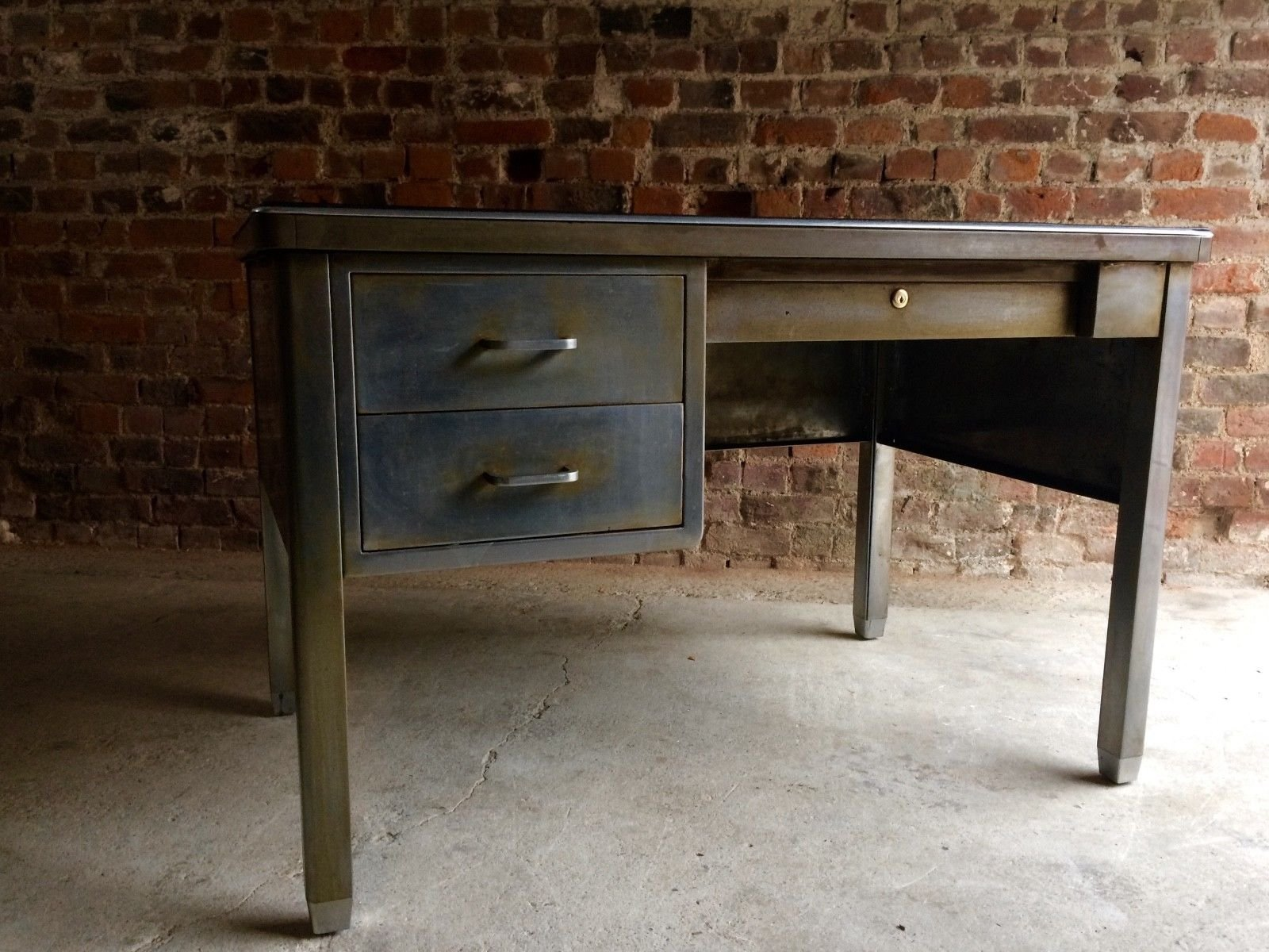 vintage steel furniture. contemporary furniture vintage steel industrial writing desk from robberechts 3 previous throughout furniture s
