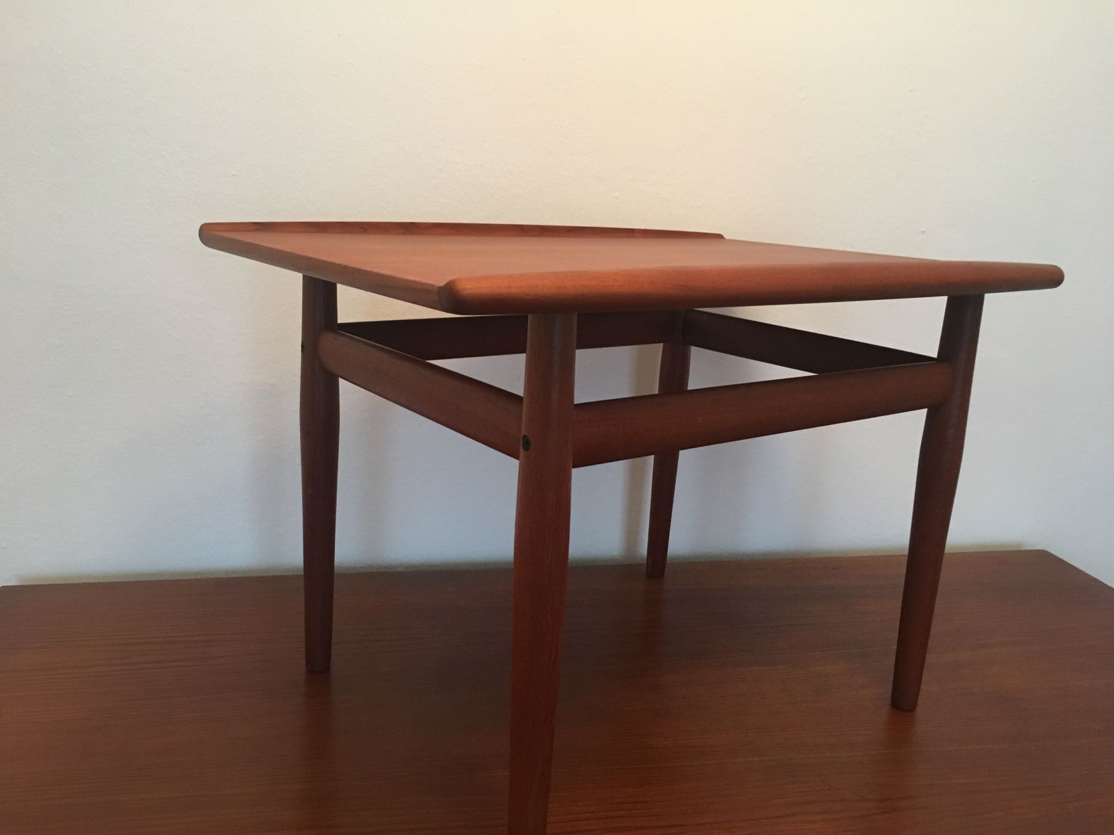 Danish Teak Coffee Table By Grete Jalk For Glostrup 1960s For Sale At Pamono