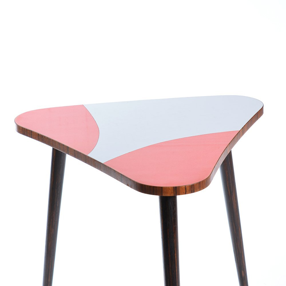 Triangular formica coffee table 1960s for sale at pamono for Formica table