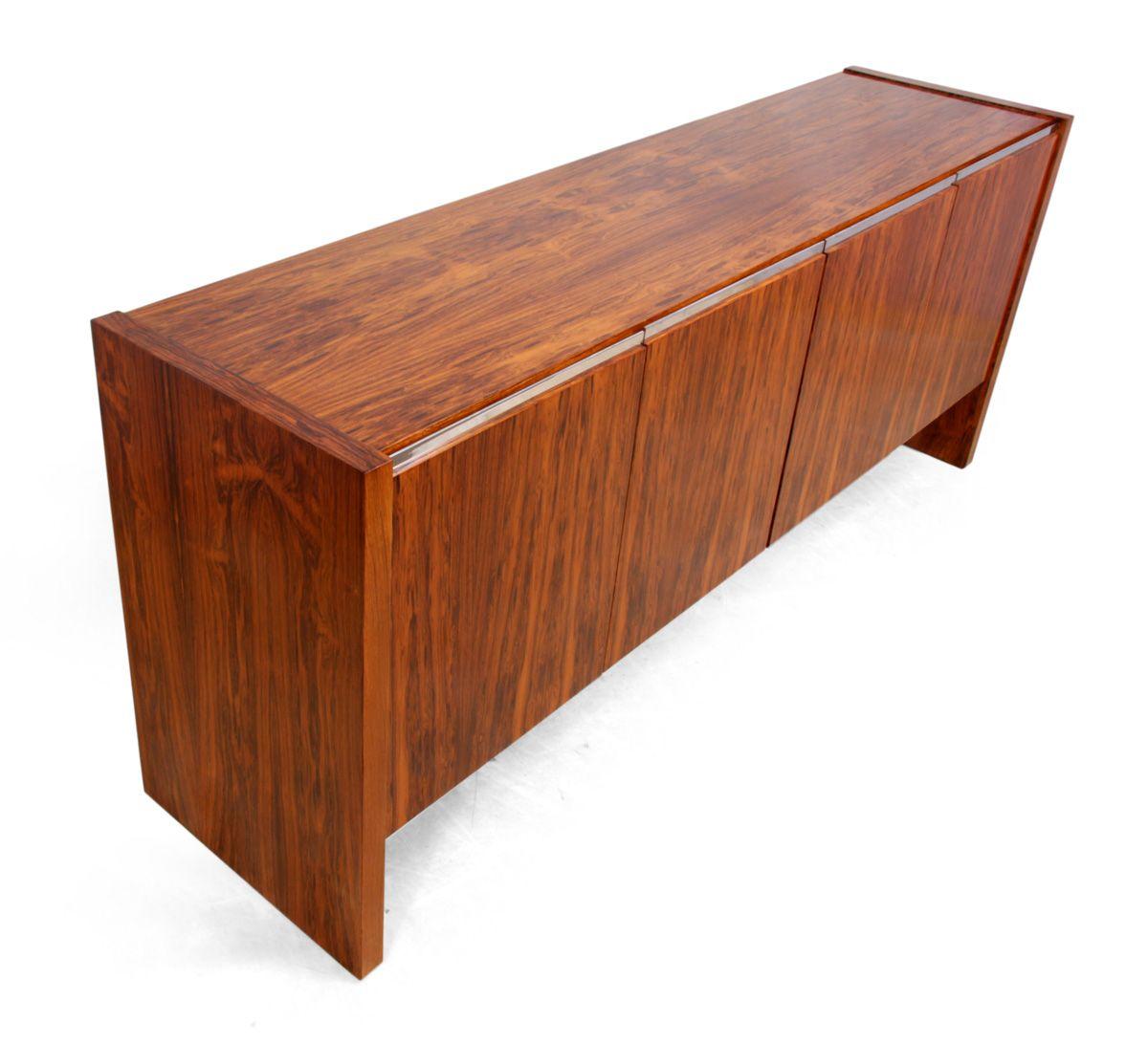 Cocobolo Veneer Sideboard From Merrow Associates 1970s