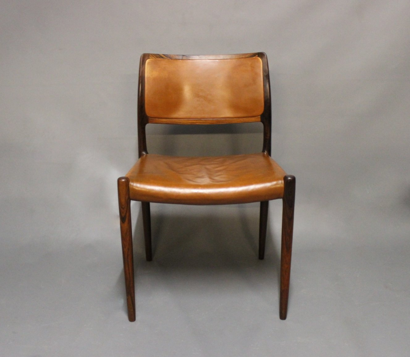 Model 80 dining chairs in rosewood by n o m ller for j l for 80s furniture for sale