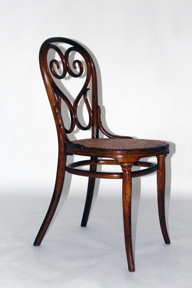 antique no 4 caf daum chair by michael thonet for thonet for sale at pamono. Black Bedroom Furniture Sets. Home Design Ideas