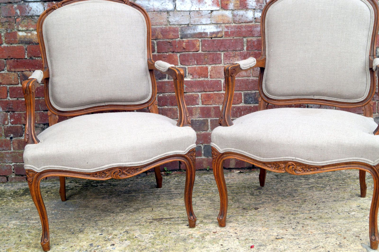 Antique french salon chairs set of 2 for sale at pamono for Salon chairs for sale
