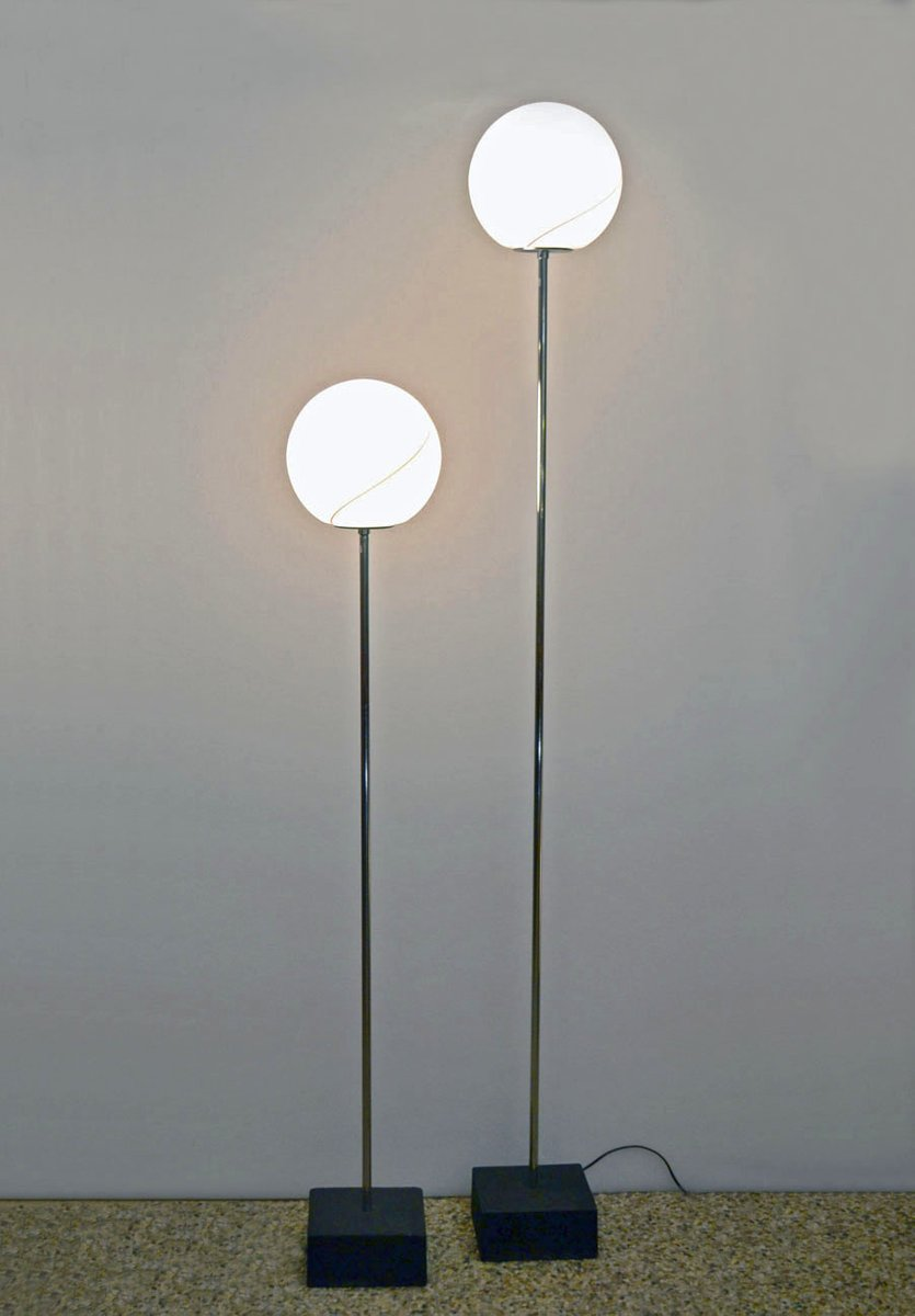 Floor lamps from leucos 1970s set of 2 for sale at pamono for 1970s floor lamps