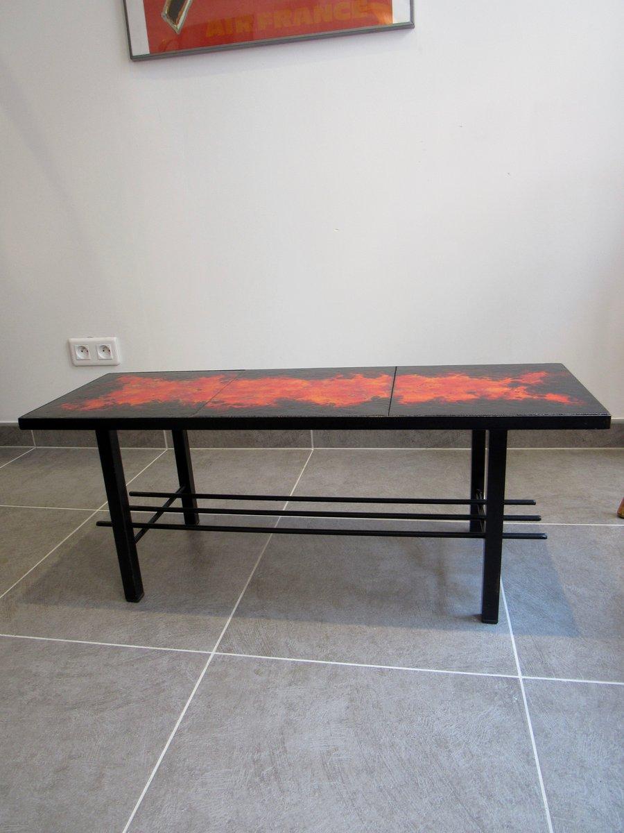 table basse 1960s en vente sur pamono. Black Bedroom Furniture Sets. Home Design Ideas