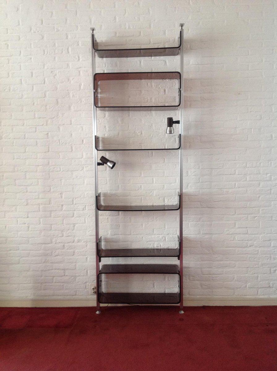 vintage shelving unit by mich l ducaroy for roche bobois. Black Bedroom Furniture Sets. Home Design Ideas