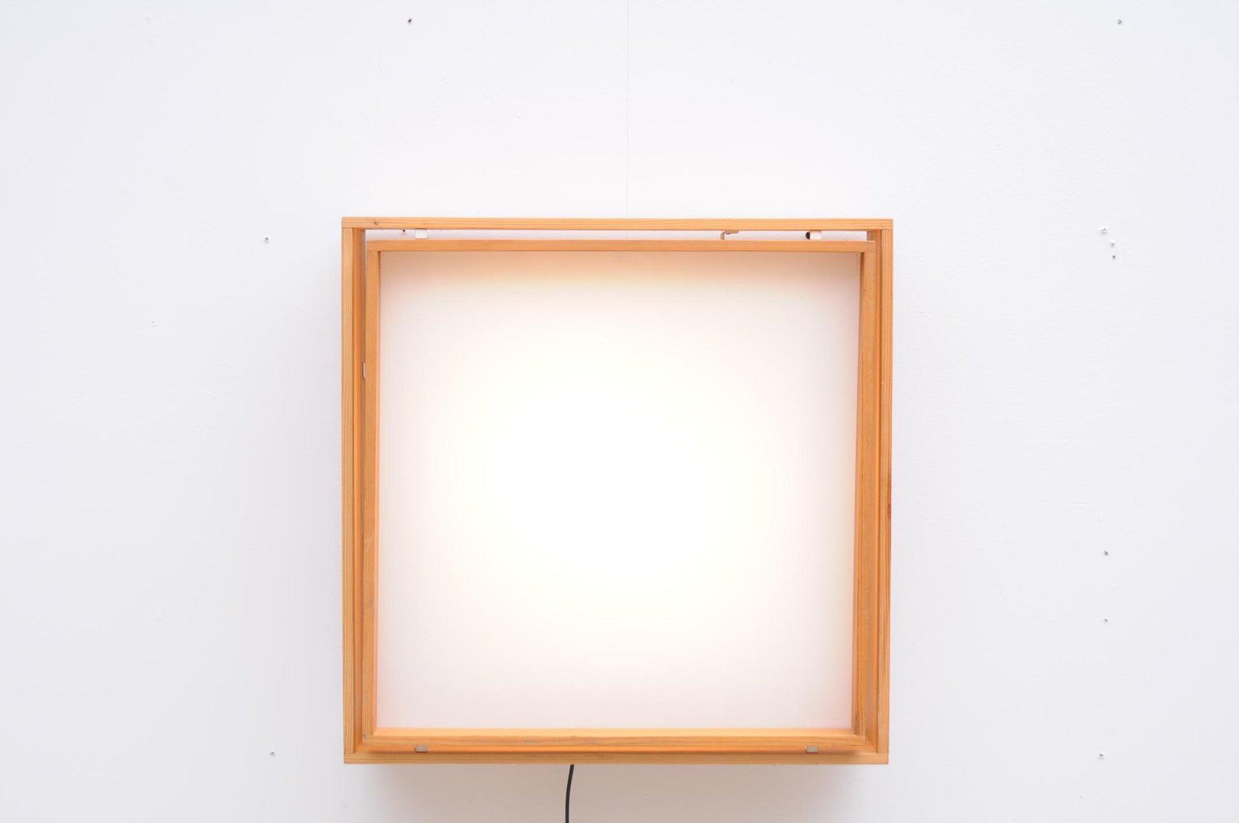 d nische vintage deckenlampe aus holz glas bei pamono kaufen. Black Bedroom Furniture Sets. Home Design Ideas
