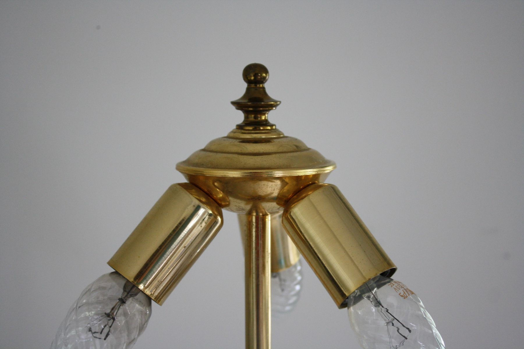 Brass Floor Lamp, 1970s for sale at Pamono