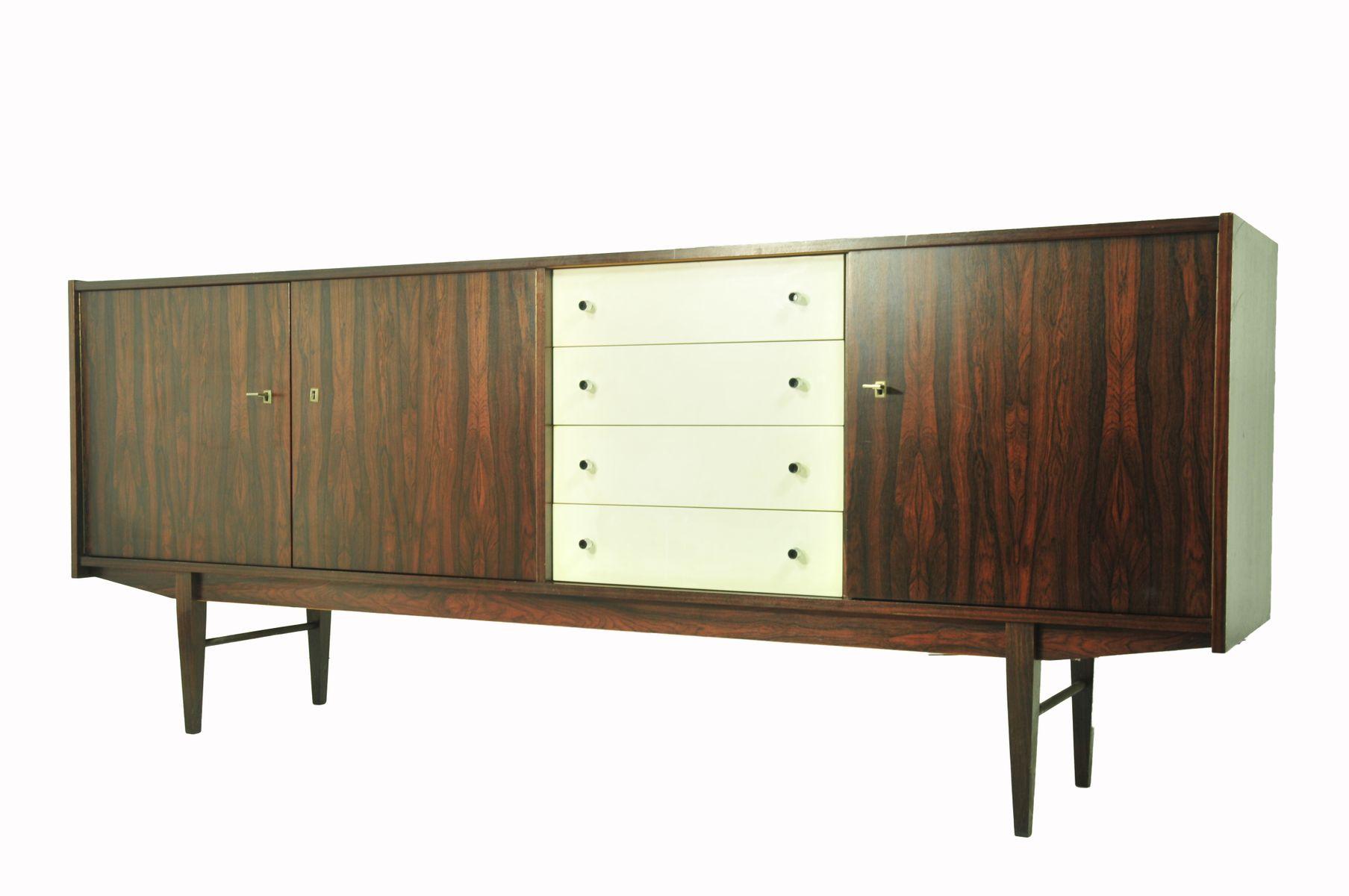 palisander sideboard von fristho 1950er bei pamono kaufen. Black Bedroom Furniture Sets. Home Design Ideas