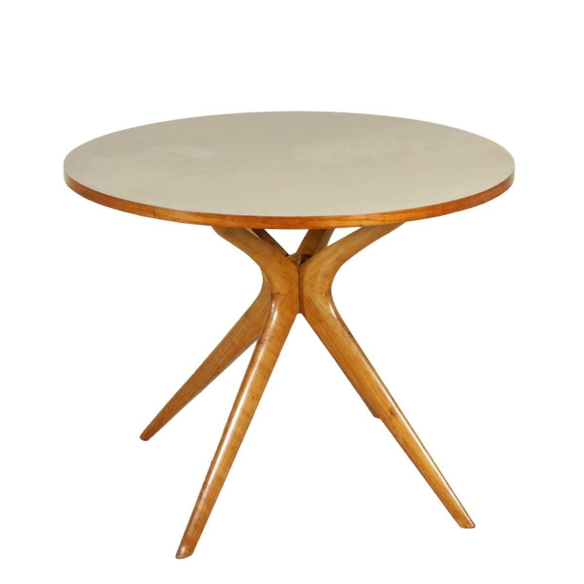 Italian beech and formica table 1950s for sale at pamono for Formica table