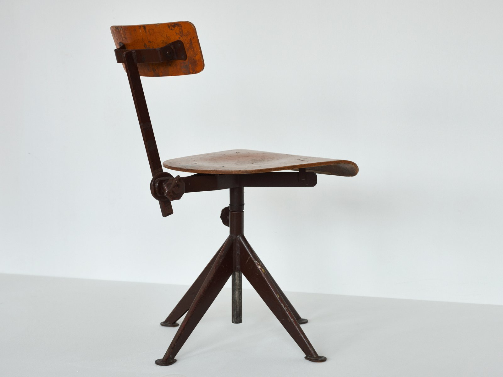 Vintage Swivel Work Chair By Jean Prouve For Sale At Pamono - Work chair