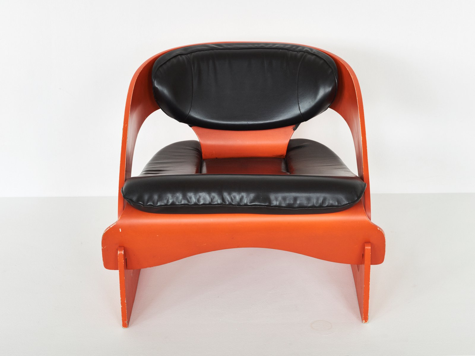 Mid Century Model 4801 Lounge Chair by Joe Colombo for Kartell for