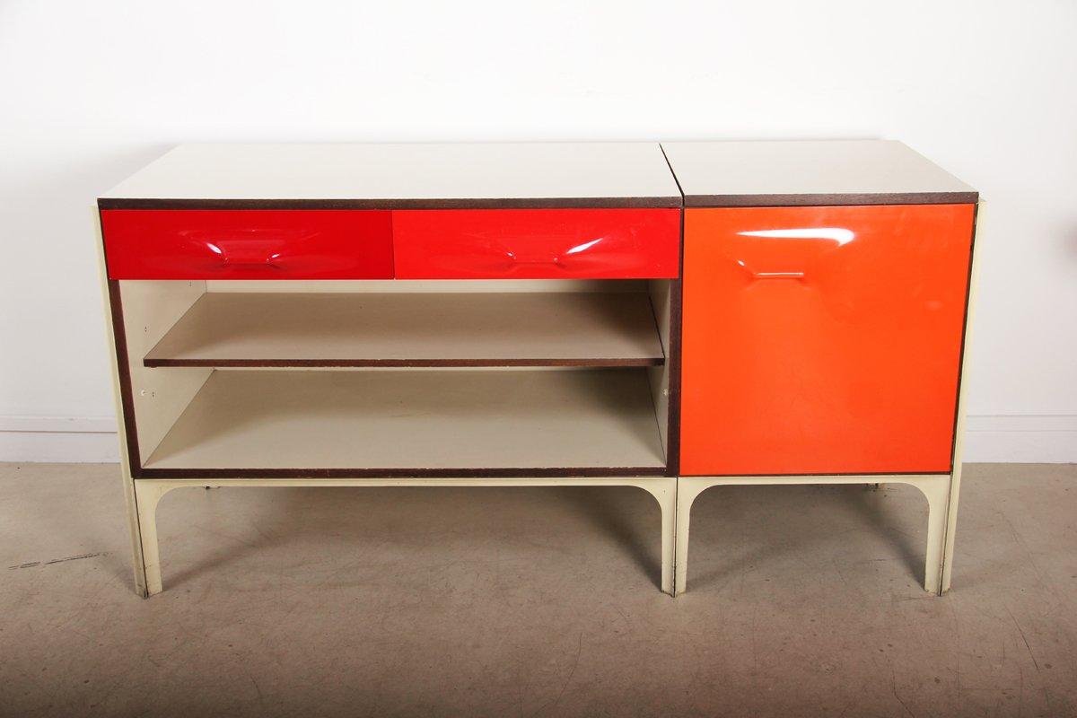 vintage schreibtisch von raymond loewy f r df2000 bei pamono kaufen. Black Bedroom Furniture Sets. Home Design Ideas