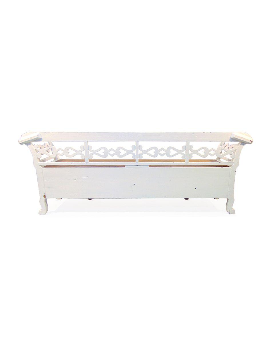 schwedische k chenbank aus nat rlichem holz in wei 1900er bei pamono kaufen. Black Bedroom Furniture Sets. Home Design Ideas