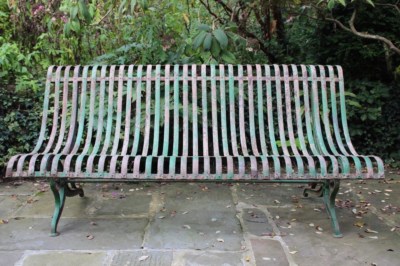 Antique Parisian Garden Bench For Sale At Pamono