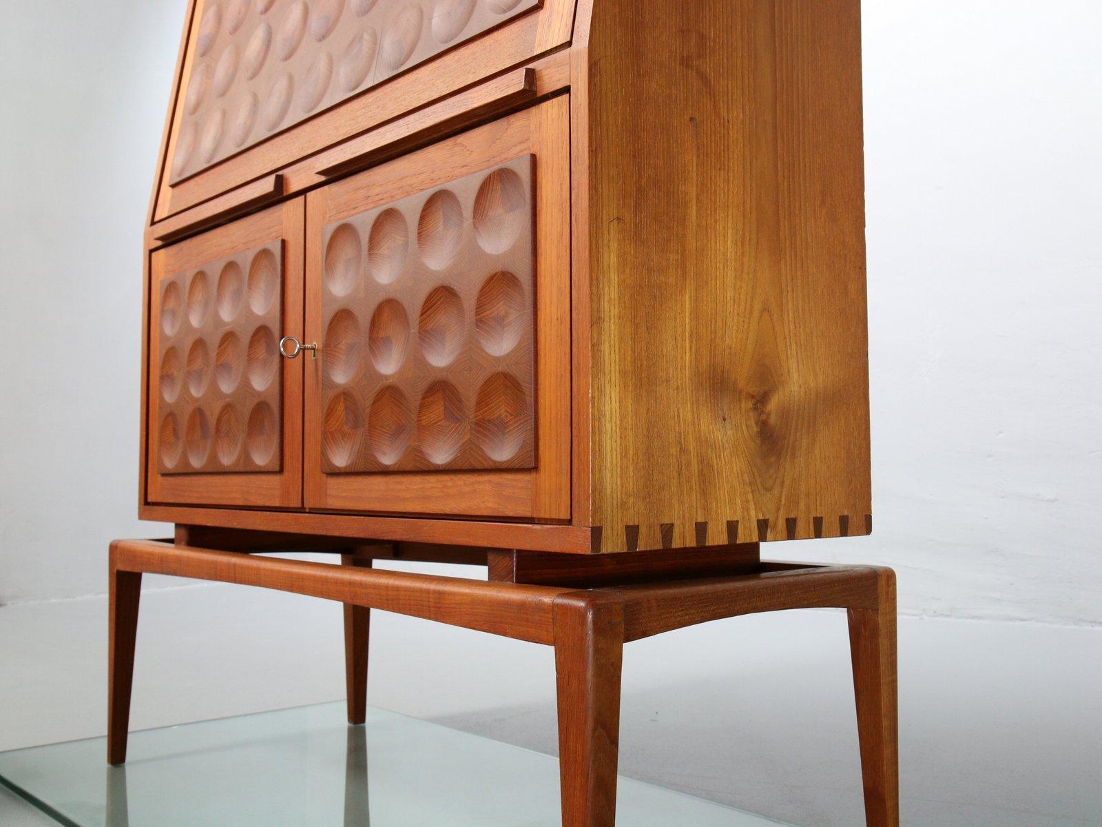 mid century teak sekret r 1960er bei pamono kaufen. Black Bedroom Furniture Sets. Home Design Ideas