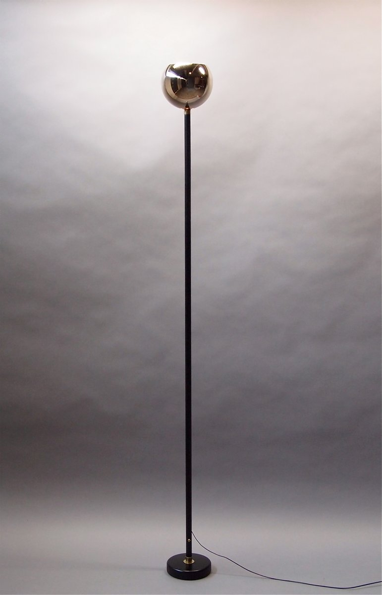 Black Floor Lamp 1950s For Sale At Pamono