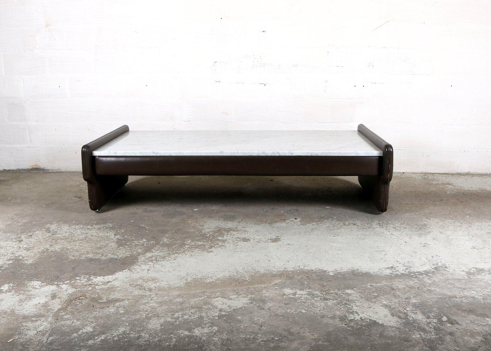 vintage marmor couchtisch bei pamono kaufen. Black Bedroom Furniture Sets. Home Design Ideas