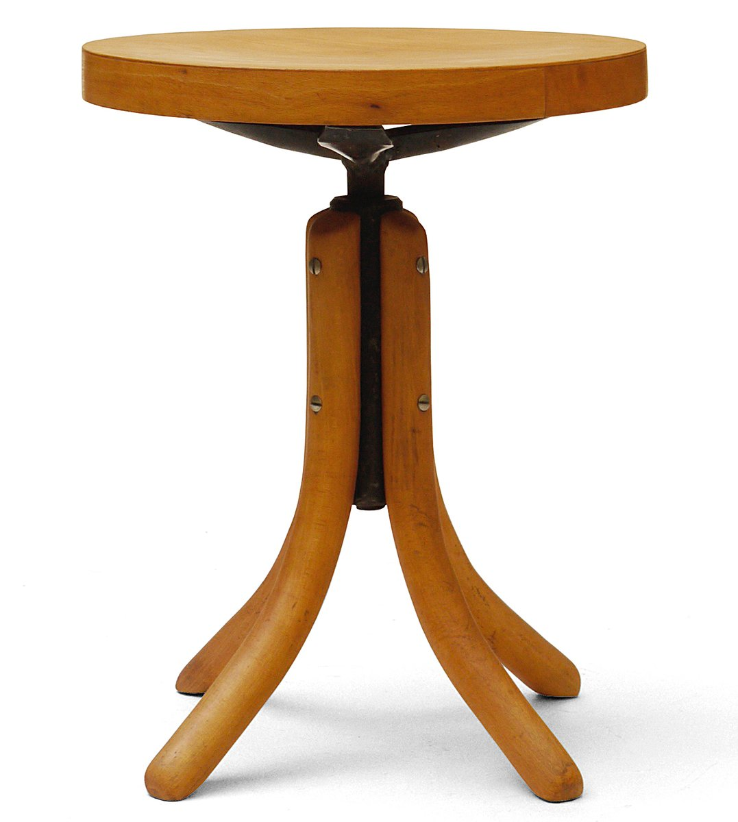 Price per piece  sc 1 st  Pamono & Wooden Adjustable Stool from Thonet 1960s for sale at Pamono islam-shia.org