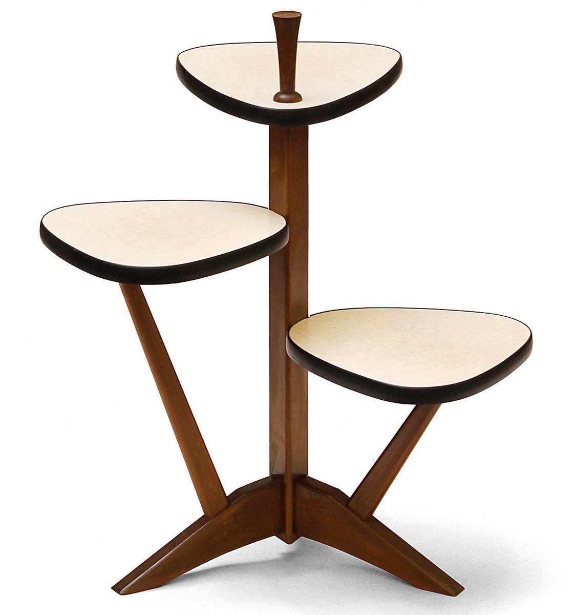 german mid century plant stand for sale at pamono. Black Bedroom Furniture Sets. Home Design Ideas