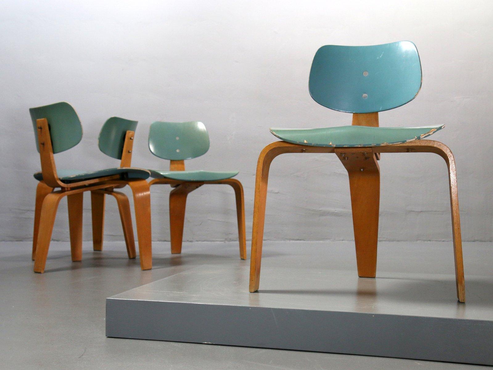 Tavolo da pranzo con sedie vintage di egon eiermann per spieth holztechnik set di 5 in vendita - Sedie per tavolo da pranzo ...