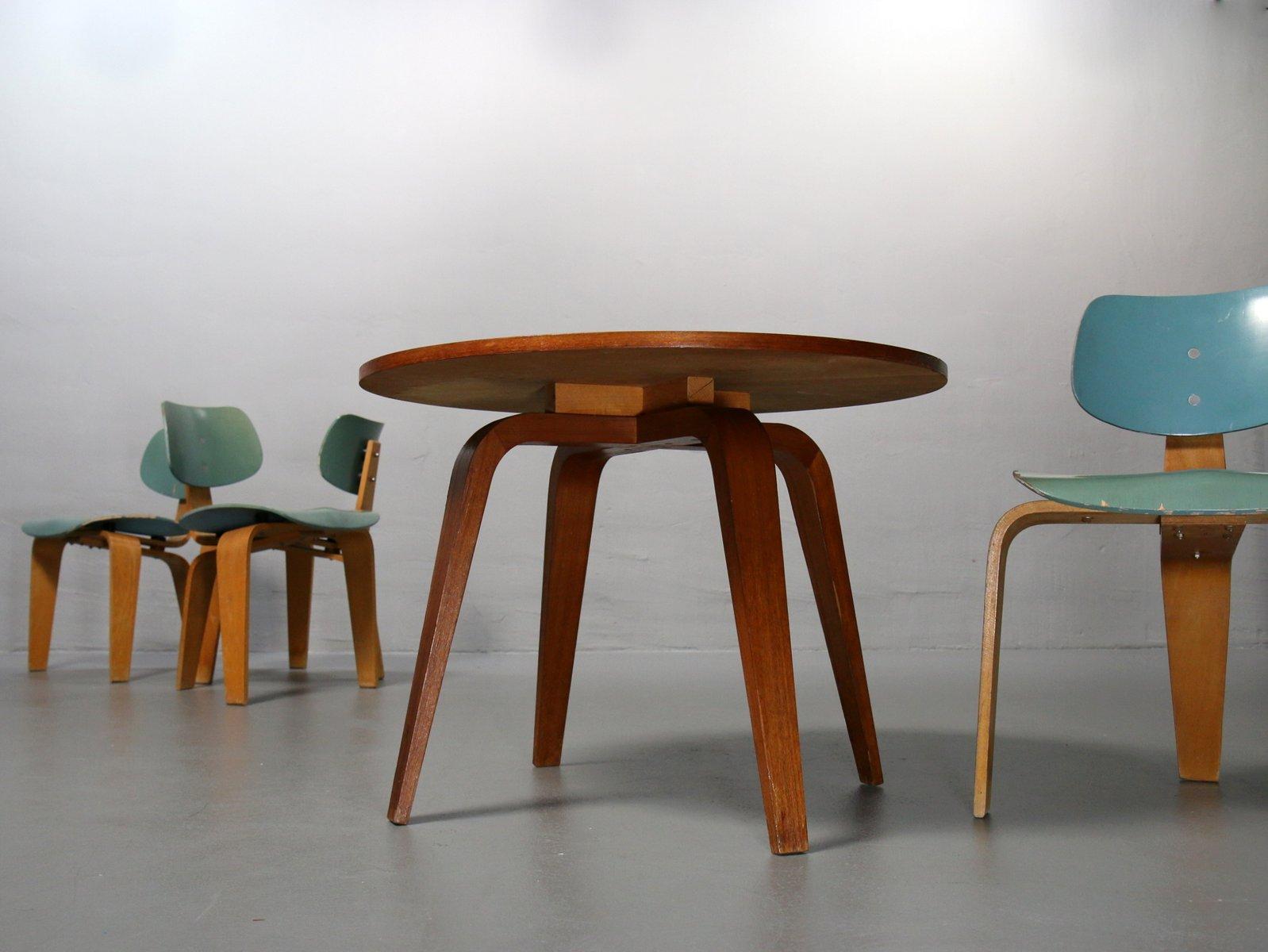 vintage tisch st hle von egon eiermann f r spieth. Black Bedroom Furniture Sets. Home Design Ideas