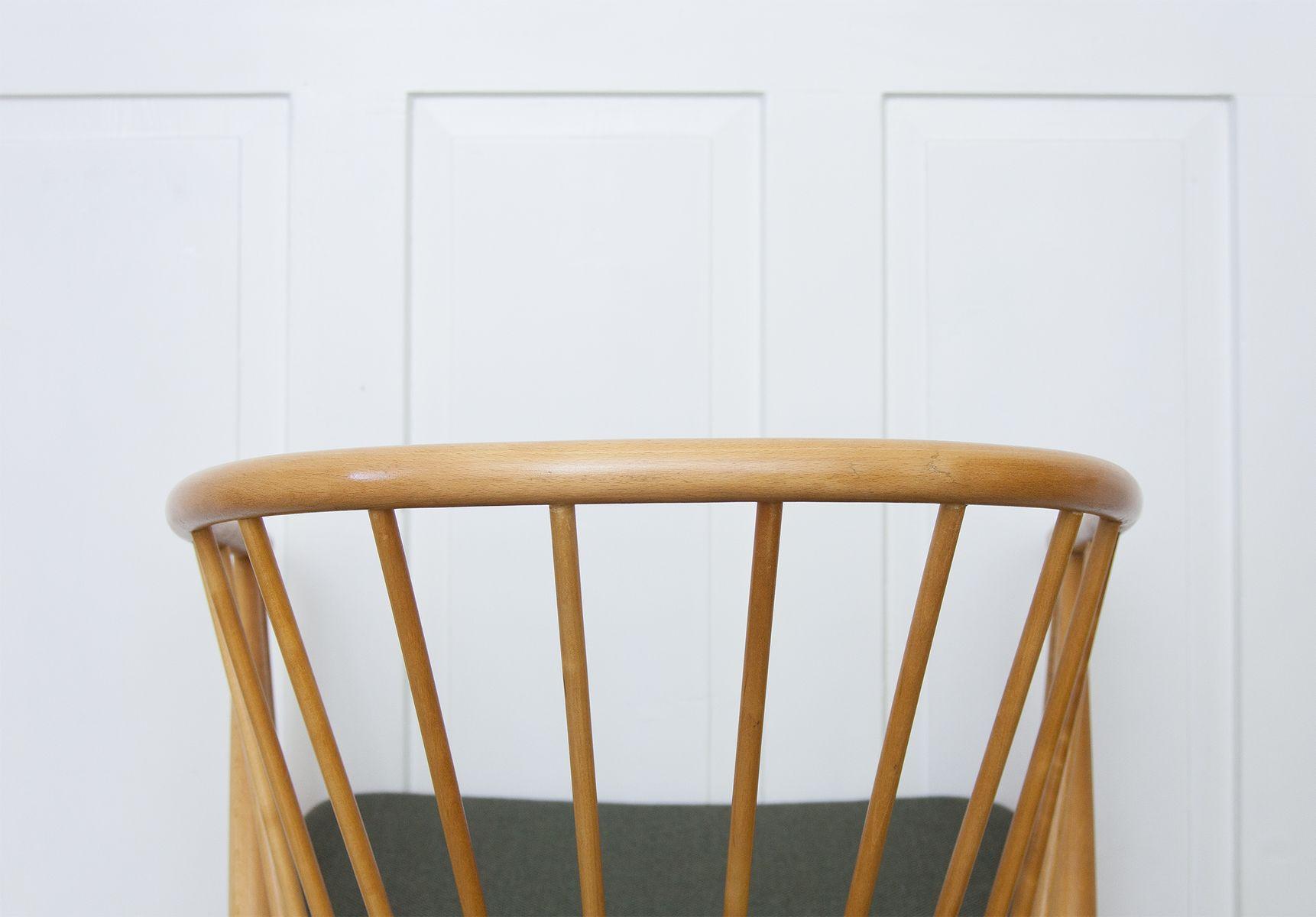 Sun Feather Spindle Chairs by Sonna Rosén for Nässjö Stolfabrik