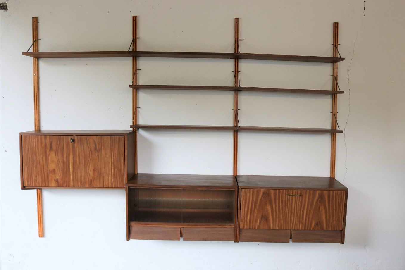 Vintage Wall Unit 1950s For Sale At Pamono