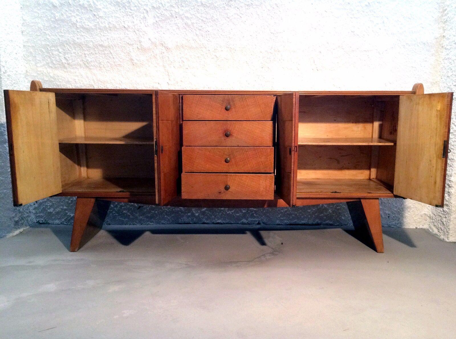 italienisches art deco sideboard 1940er bei pamono kaufen. Black Bedroom Furniture Sets. Home Design Ideas