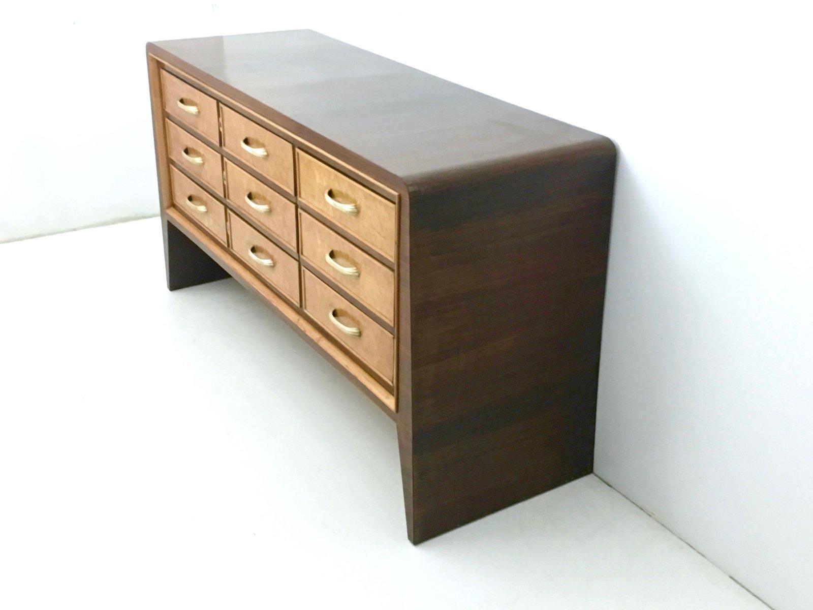 vintage mahagoni furnier kommode von guglielmo ulrich bei pamono kaufen. Black Bedroom Furniture Sets. Home Design Ideas