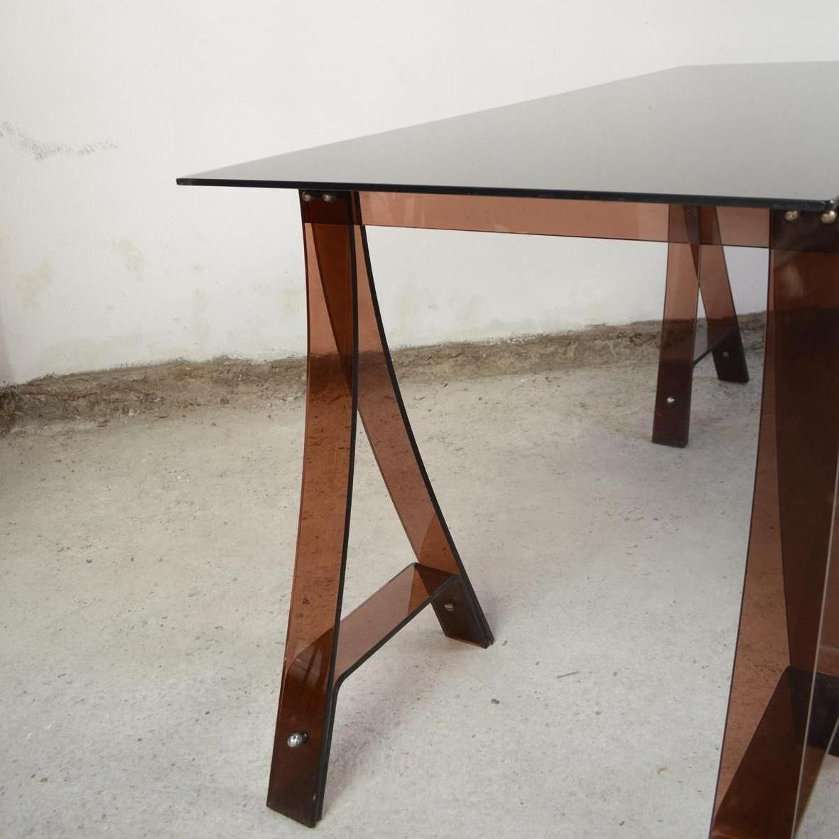 table by marcello gacita and pierre tiberi 1970s for sale at pamono. Black Bedroom Furniture Sets. Home Design Ideas