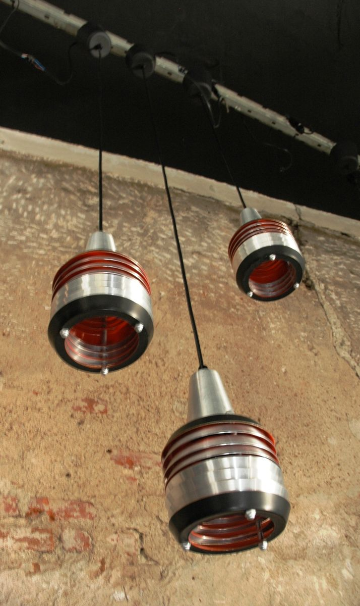 Pendant Lights From Lakro 1960s Set Of 3 For Sale At Pamono