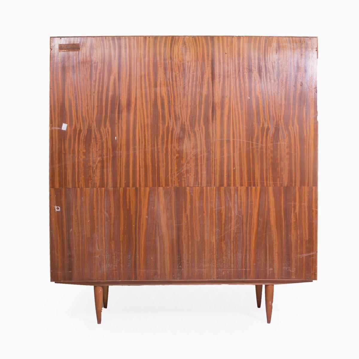 schrank aus holz 1970er bei pamono kaufen. Black Bedroom Furniture Sets. Home Design Ideas