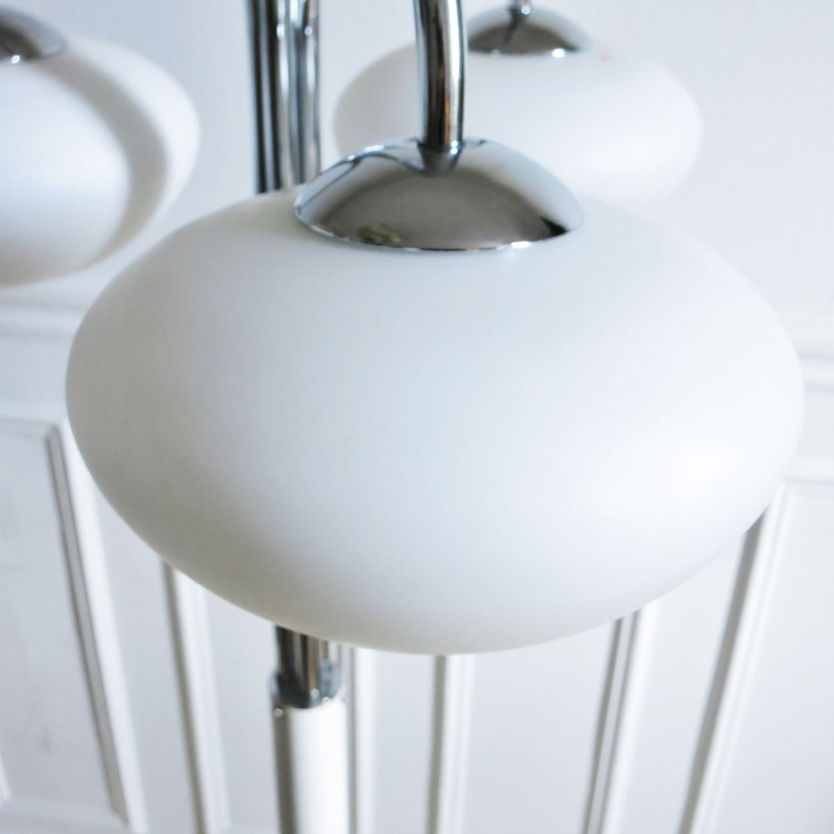 moderne stehlampe mit drei leuchten 1970er bei pamono kaufen. Black Bedroom Furniture Sets. Home Design Ideas