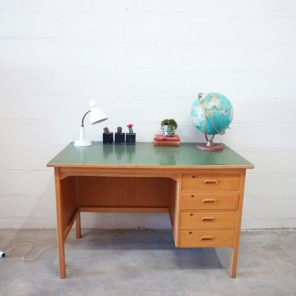 Wooden Desk 1960s For Sale At Pamono