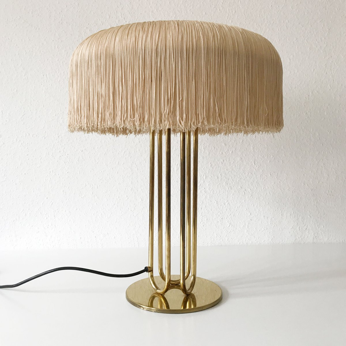 Large mid century brass table lamps set of 2 for sale at pamono large mid century brass table lamps set of 2 audiocablefo light catalogue